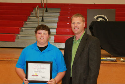 Hunter Evenson - Ag Scholarship
